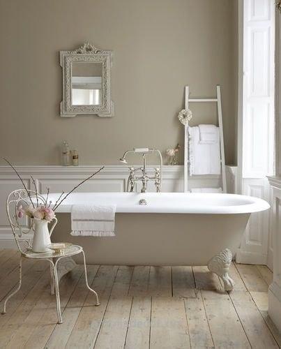 Styl Shabby Chic łazienka Architeka